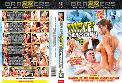 Dirty Masseur 6 Brazzers - Busty Sealed DVD