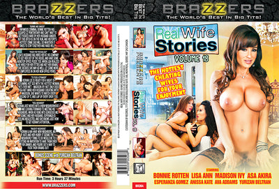 Real Wife Stories 18 Brazzers Sealed DVD