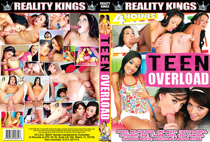 Teen Overload Reality Kings - Comp  - Sealed DVD