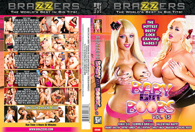 Baby Got Boobs 15 Brazzers - Sealed DVD
