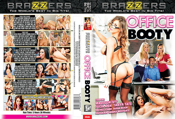 Office Booty (madison ivy) Brazzers 2015 Sealed DVD
