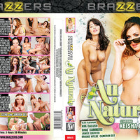Au Naturale Brazzers Sealed DVD