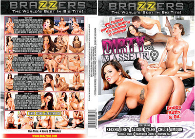 Dirty Masseur 9 Brazzers Sealed DVD