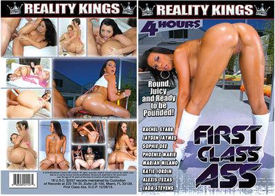 First Class Ass Reality Kings Sealed DVD