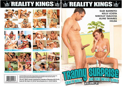 Tranny Surprise 41 Reality Kings Sealed DVD