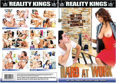 Hard At Work 1 Reality Kings - Sealed DVD