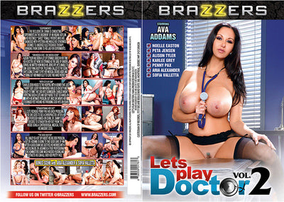 Let's Play Doctor 2 Brazzers Sealed DVD