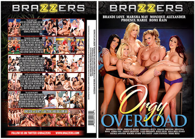 Orgy Overload Brazzers - 16, 17 Sealed DVD