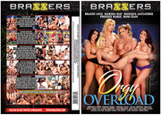 Orgy Overload Brazzers -  (riley reid) Factory Sealed DVD