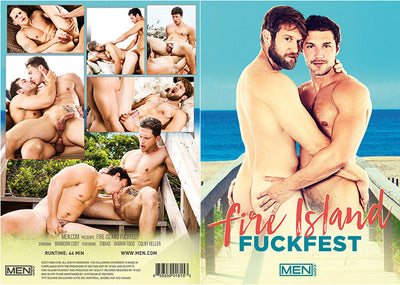 Fire Island Fuckfest Men.com - 2017 Sealed DVD