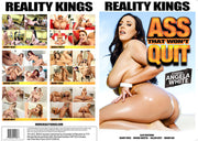 Ass That Won't Quit 1 Reality Kings - 2018 Sealed DVD