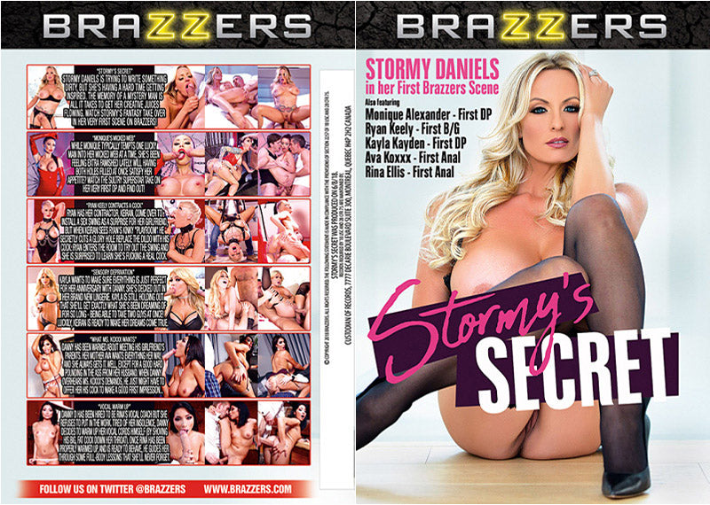 Stormy's Secret Brazzers Sealed DVD