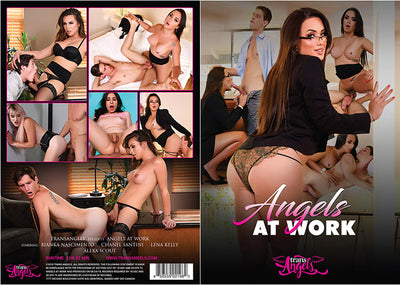 Angels At Work Trans Angels - Shemale Sealed DVD