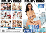 Big F'n Titties 5 Reality Kings - 2018 Sealed DVD