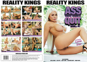 Ass That Won't Quit 4 Reality Kings - 2018 Sealed DVD
