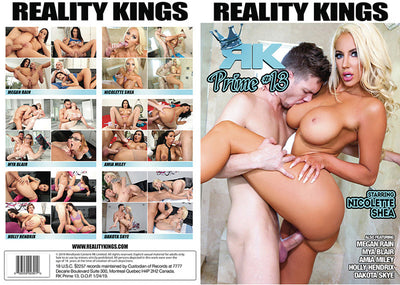 RK Prime 13 Reality Kings - 2019  - Sealed DVD