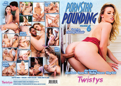 Pornstar Pounding 6 Twistys Sealed DVD