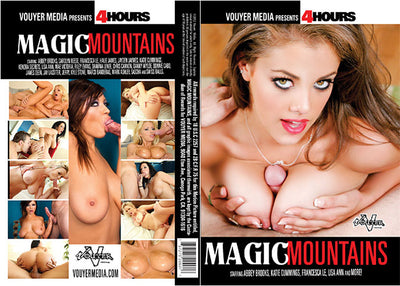 Magic Mountains, Vouyer Media 4 Hrs Sealed DVD