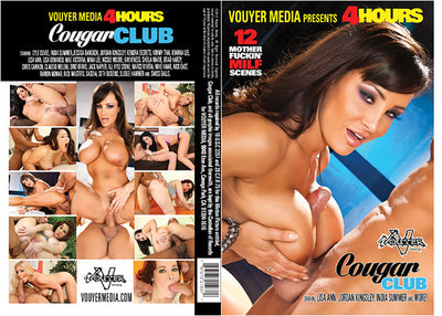 Cougar Club Vouyer Media 4 Hrs Sealed DVD