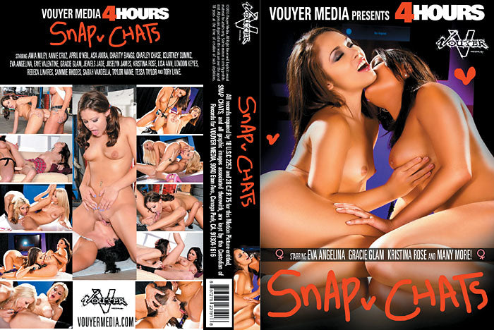 Snap Chats Vouyer Media 4 Hrs Sealed DVD