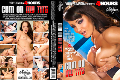 Cum On My Tits Vouyer Media 4 Hrs Sealed DVD