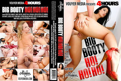 Big Booty Ho!Ho!Ho! Vouyer Media 4 Hrs Sealed DVD