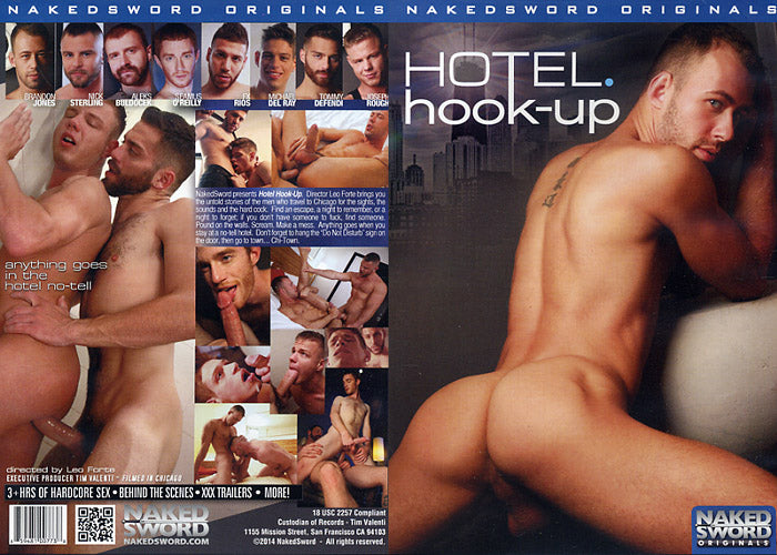 Hotel Hook Up - Naked Sword Gay Sealed DVD