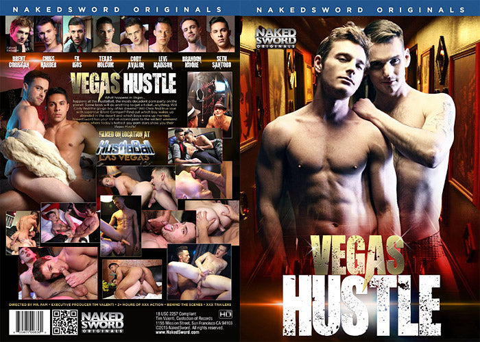 Vegas Hustle - Naked Sword Gay Sealed DVD