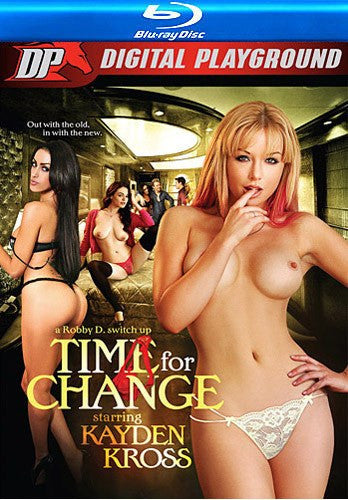 Kayden Kross Time for Change Blu Ray Digital Playground New DVD in Sleeve