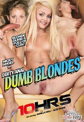 Dirty Anal Dumb Blondes - 10 Hour DVD