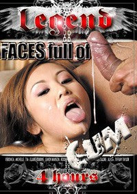 Faces Full of Cum - 4 Hour - DVD In Sleeve