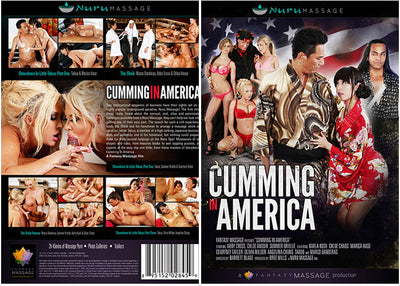 Cumming In America Fantasy Massage Sealed DVD