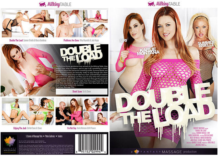 Double The Load (massage) Tricky Spa Sealed DVD