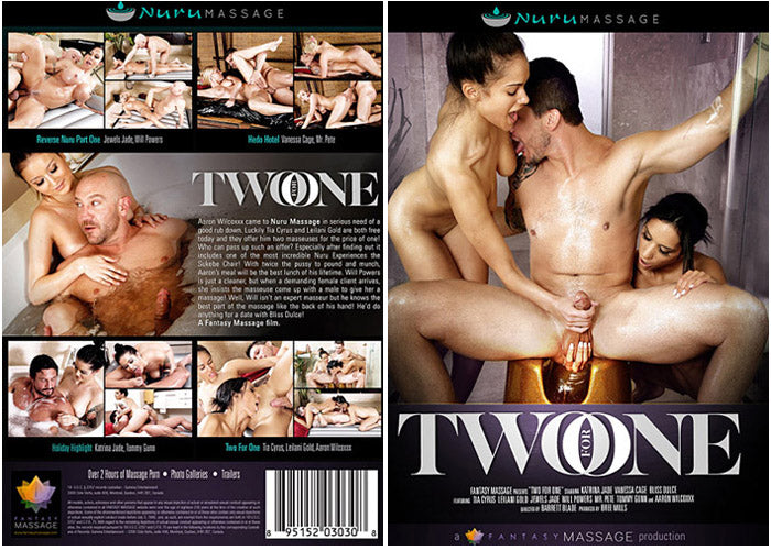 Two for One (massage) Tricky Spa Sealed DVD