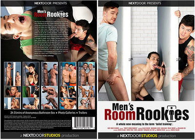 Mens Room Rookies - NextDoorBuddies Gay Sealed DVD