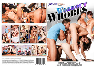 Workout Whores Fitness Rooms Sealed DVD