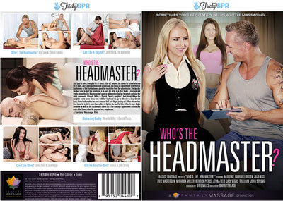 Who's The Headmaster?, Fantasy Massage Sealed DVD