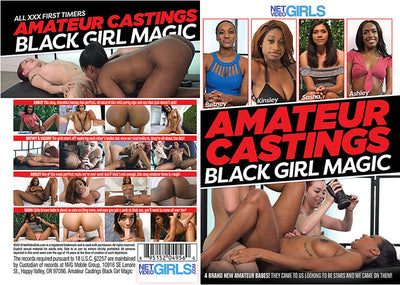 Amateur Castings: Black Girl Magic 1 Net Video Sealed DVD