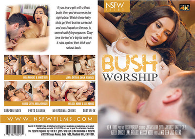 *Bush Worship NSFW (abella danger) Sealed DVD
