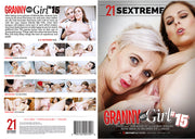 Granny Meets Girl 15 21 Sextury - 2019 (granny) Sealed DVD