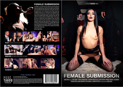 Female Submission Pure Taboo - New  - Sealed DVD