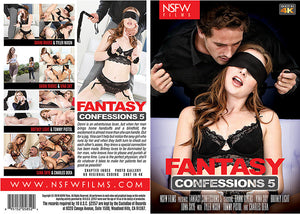 Fantasy Confessions 5 NSFW - 2019 Sealed DVD