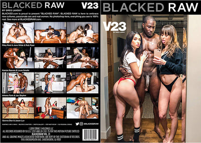 Blacked Raw V23 Blacked Raw (riley reid) Sealed DVD