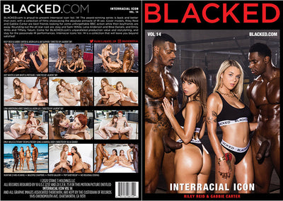 Interracial Icon 14 Blacked (riley reid) Sealed DVD
