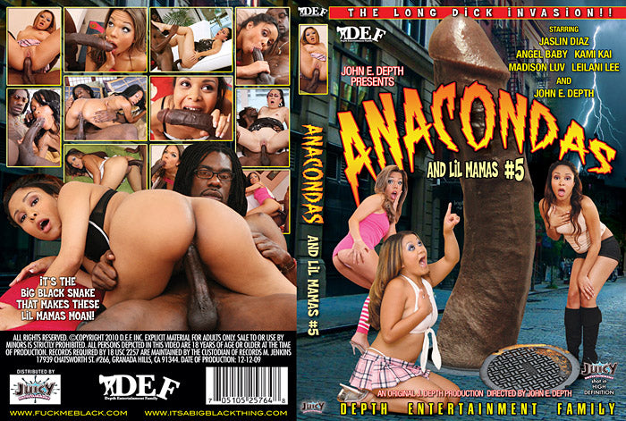 Anacondas and Lil Mamas #5 - Depth Ent Sealed DVD