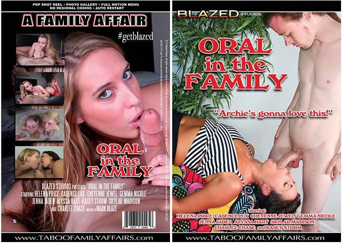 Oral in the Family - Blazed New Sealed DVD