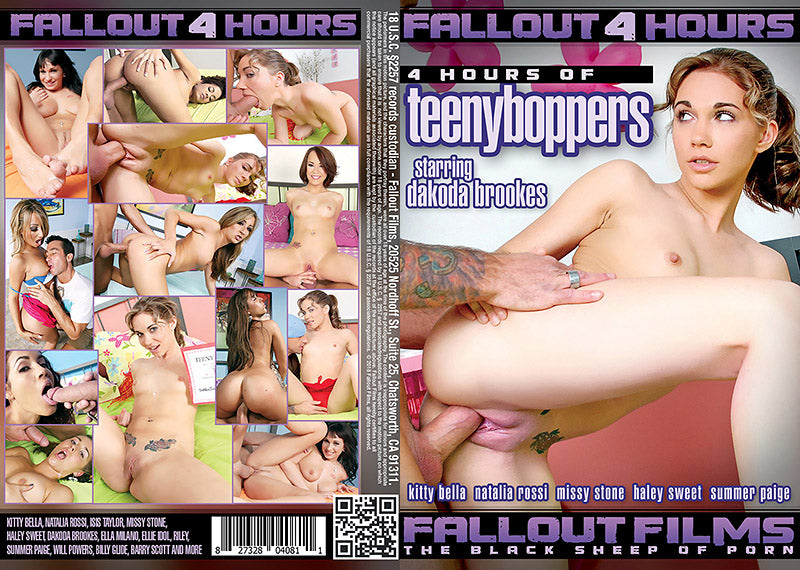 TeenyBoppers #1 - 4 Hour Fallout Sealed DVD