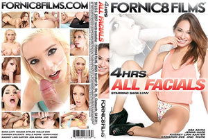 All Facials #1 - Fornic8 Films 4 Hour Sealed DVD