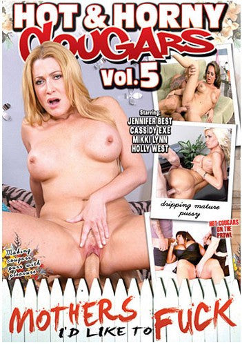 Hot & Horny Cougars #5 - MILTF - Adult XXX DVD