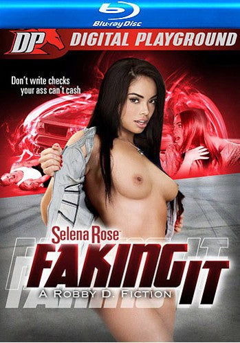 Selena Rose Faking It Blu Ray Digital Playground New DVD in Sleeve